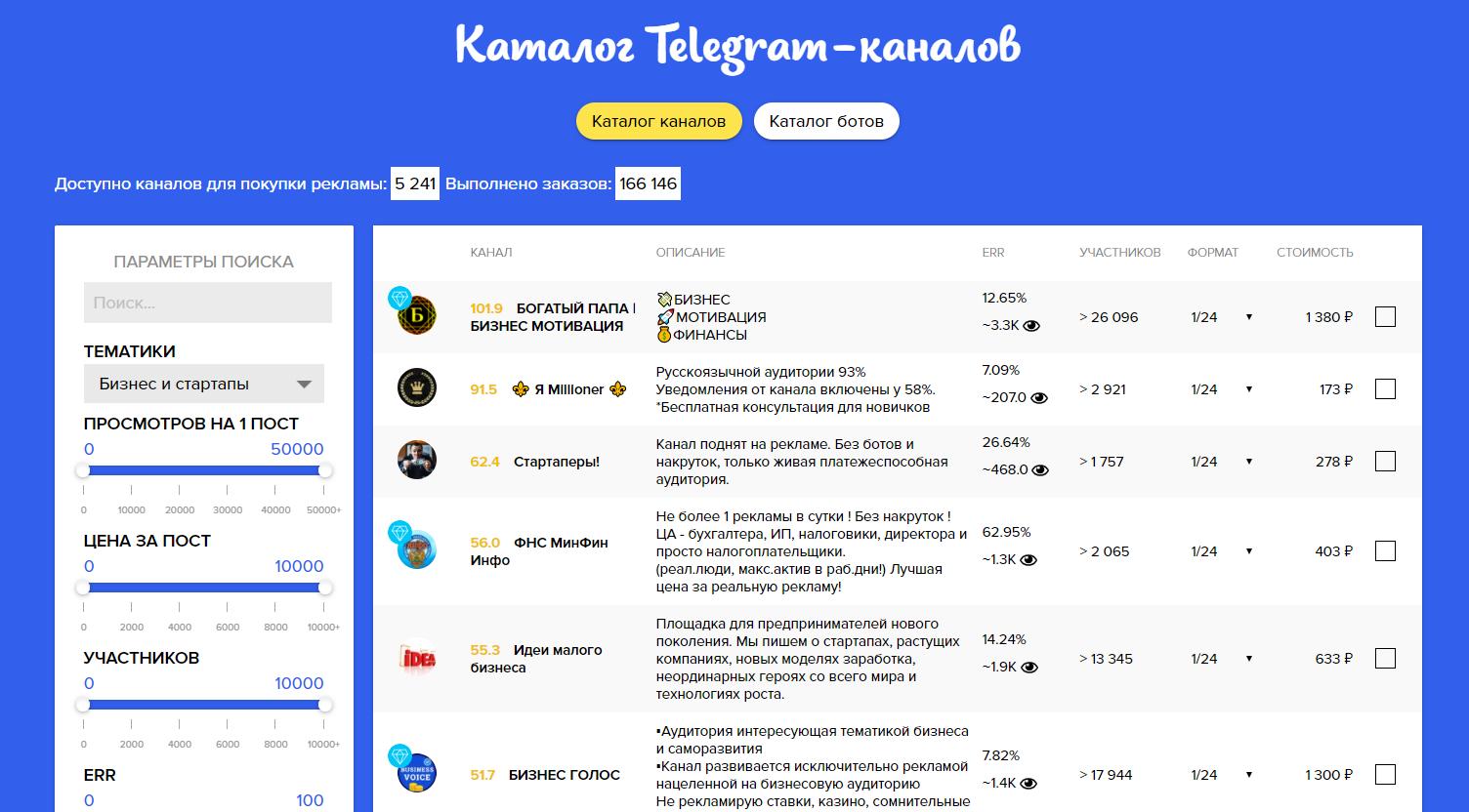 Купить рекламуТелеграм-каналов возможно на Telega