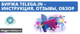 ПTelega.in – инструкция, отзывы, обзор