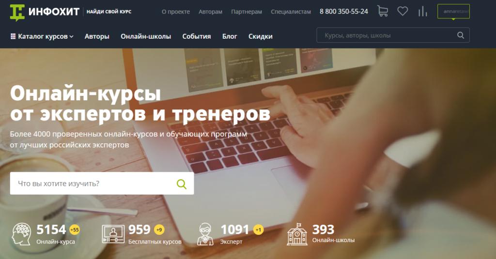 Заработок на каналах Телеграм с помощью партнерских программ: Info-hit