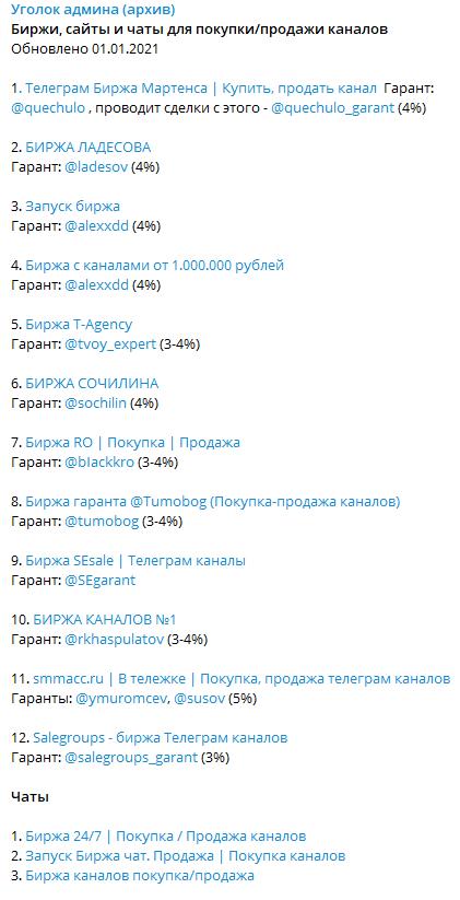 Как правильно продать и купить Телеграм-канал