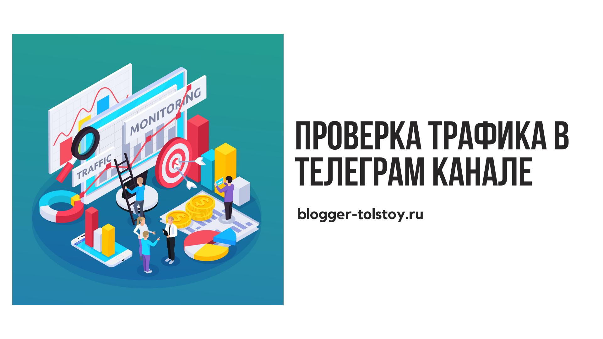 Проверка трафика в телеграм канале при проведении рекламной компании